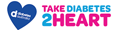 Diabetes Australia - Take Diabetes 2 Heart - logo